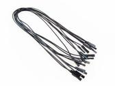 Jumper Wires F/F Pack of 10 Black