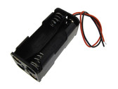 2*2*AAA Non-Rechargeable/Rechargeable Battery Holder Wire Lead