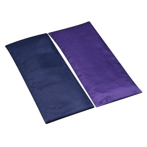 """Eye Pillow Satin with removable cover (9""""x4"""")"""