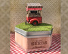Quarter Scale Farm Stand Kit with Base