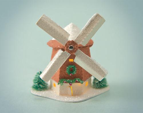Copper Windmill Glitter House Kit