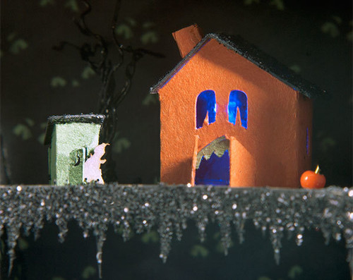 Scream and Shouthouse - Creepy Coffin Glitter House Kit