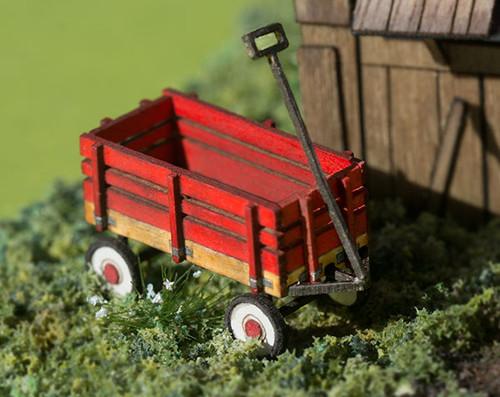 Quarter scale, pull along wagon kit
