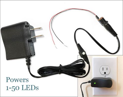 3V DC Regulated Adapter for LEDs