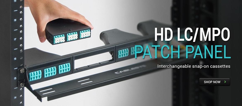HD LC/MPO Cassette Patch Panel