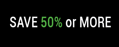 save 50 percent or more
