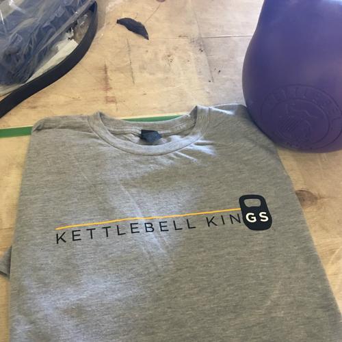 Kettlebell shirt, Kettlebell Kings shirt