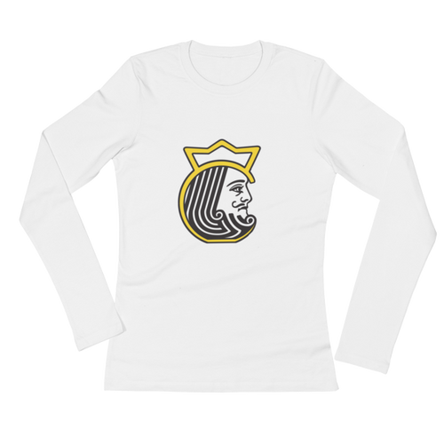 Kettlebell Kings Head Ladies' Long Sleeve T-Shirt