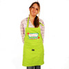 Grimm Make Yourself At Home Clean My Kitchen Green Adjustable Apron Front Pocket