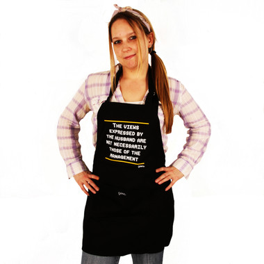Grimm Views Expressed By The Husband Are Not Necessarily Those Of Management Adjustable Apron Front Packet