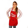Grimm Whisky Business Whisk Kitchen Red Adjustable Apron Front Pocket Graphic Print Humorous Funny