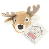 """Stuffed Animal House 2"""" White Tailed Deer Head Fridge Refrigerator Locker Magnet Mini Magnetic Walltoy Wild Tiny Toy Small Soft Furry White-Tailed Fuzzy Plush Felt Antlers Critter Canadian North American Wildlife"""