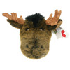 """Stuffed Animal House 15"""" Brown Moose Head Wall Toy Walltoy Wild Soft Furry Fuzzy Antlers Plush Critter Canadian North American Wildlife Hunting"""