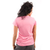 Be As You Are Maneater Man Eater Hot Bright Pink Lion Roar Animal Face Tee Women's Short Sleeve T-Shirt Shirt Ladies Top Back