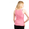 Be As You Are Breakfast Lunch Dinner Hot Pink Women's Tank Top Sleeveless Top Martini Glass Olive Shirt Ladies Back
