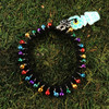 HOTI Hemp Handmade Black Hemp Anklet Turquoise Blue Green Yellow Purple Red Multi Colour Mini Steel Metal Metallic Bells Ring My Bell Belles Ladies Women's Girls Jewellery for Woman Ankle Bracelet Hand Crafted Made in Canada Made in Toronto Made in Ontario Bali Boho Chic Clasp-It Lobster Claw Clasp Toronto Ontario Canada Canadian Jewelry