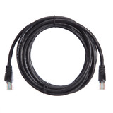 3m RJ45 Cat5e Cable Black Snagless