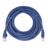 5m RJ45 Cat5e Cable Blue Snagless