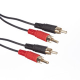 2m 2 x RCA Phono to 2 x RCA Phono Cable