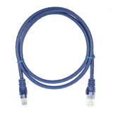 1m RJ45 Cat5e Cable Blue Snagless