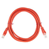 2m RJ45 Cat5e Cable Red Snagless