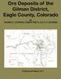Ore Deposits of the Gilman District Eagle County Colorado