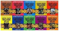 Rare United States Treasure Atlas 10 Volume Set