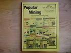 Popular Mining Encyclopedia Volume 5 Placer Gold Silver