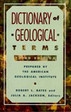 Dictionary of Geological Terms Rocks Minerals Geology