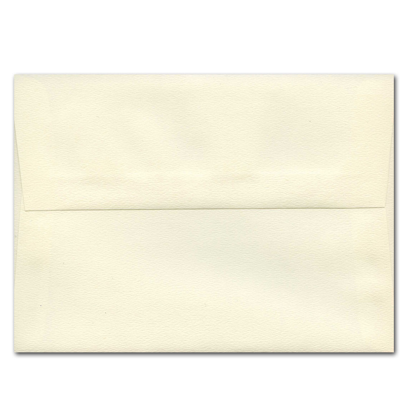 A7 Ivory Textured Envelope For Greeting Cards
