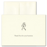 Business Thank You Card - Retro