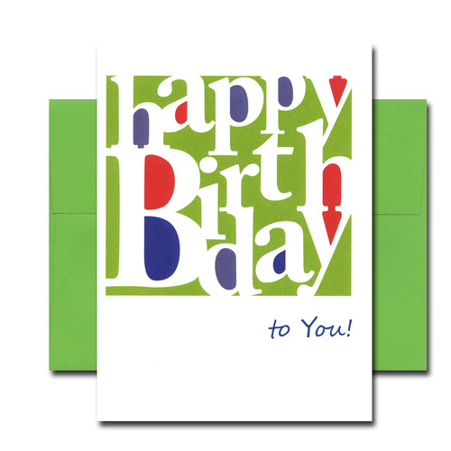 Boxed business birthday note card simply stated boxed business birthday note card simply stated cover has the words happy birthday bookmarktalkfo Choice Image