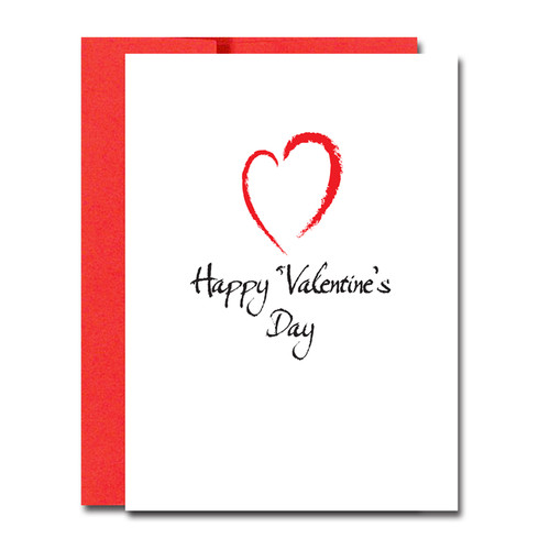 boxed valentine's day note cards for business – modern heart, Ideas