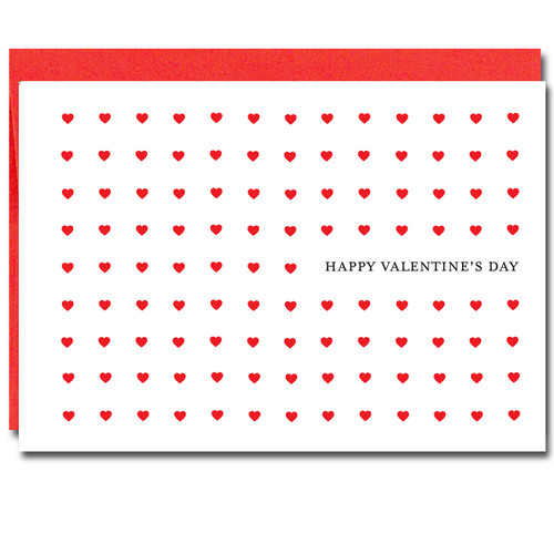 Boxed valentines day cards for business every day image of valentine card every day showing 9 rows and 9 columns of hearts with colourmoves