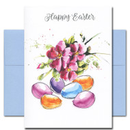 Cover of Easter Flowers card