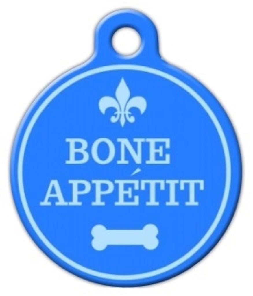 Bone Appetit Dog ID Tag