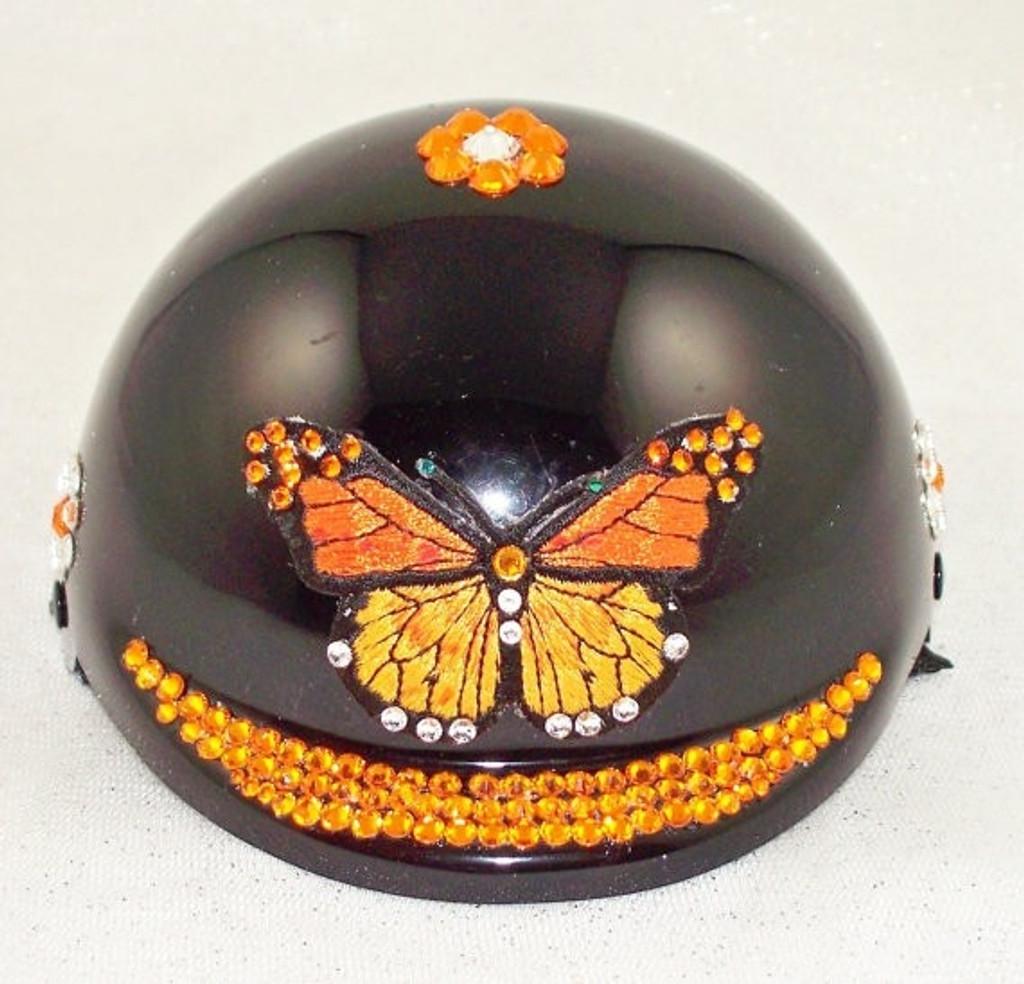 Monarch Butterfly Dog Helmet