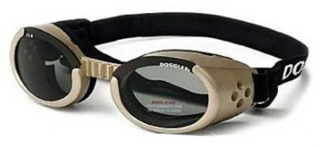 Doggles ILS Chrome Dog Goggles