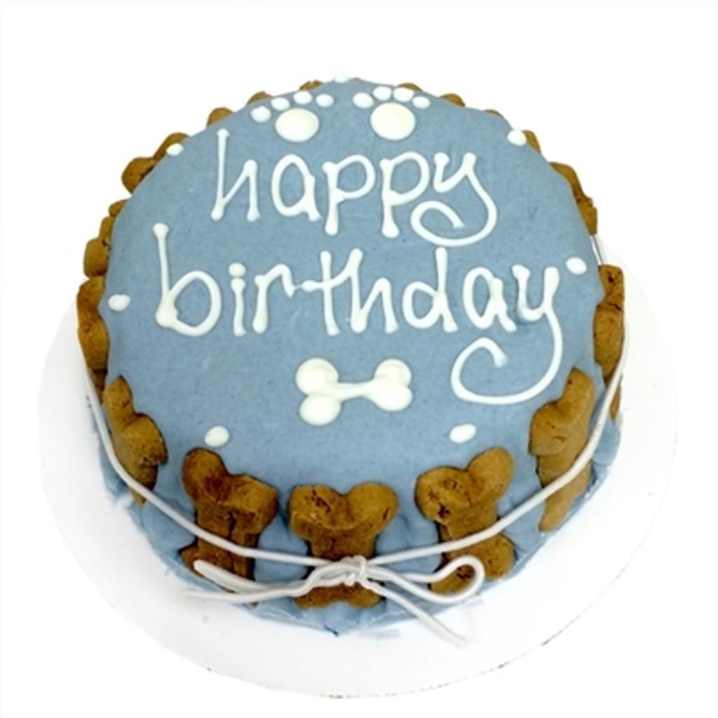 Boy Dog Birthday Cake