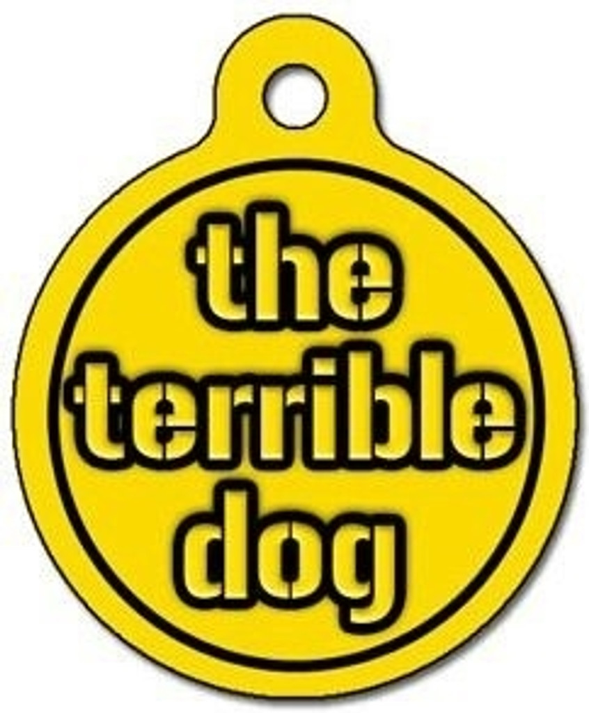The Terrible Dog ID Tag