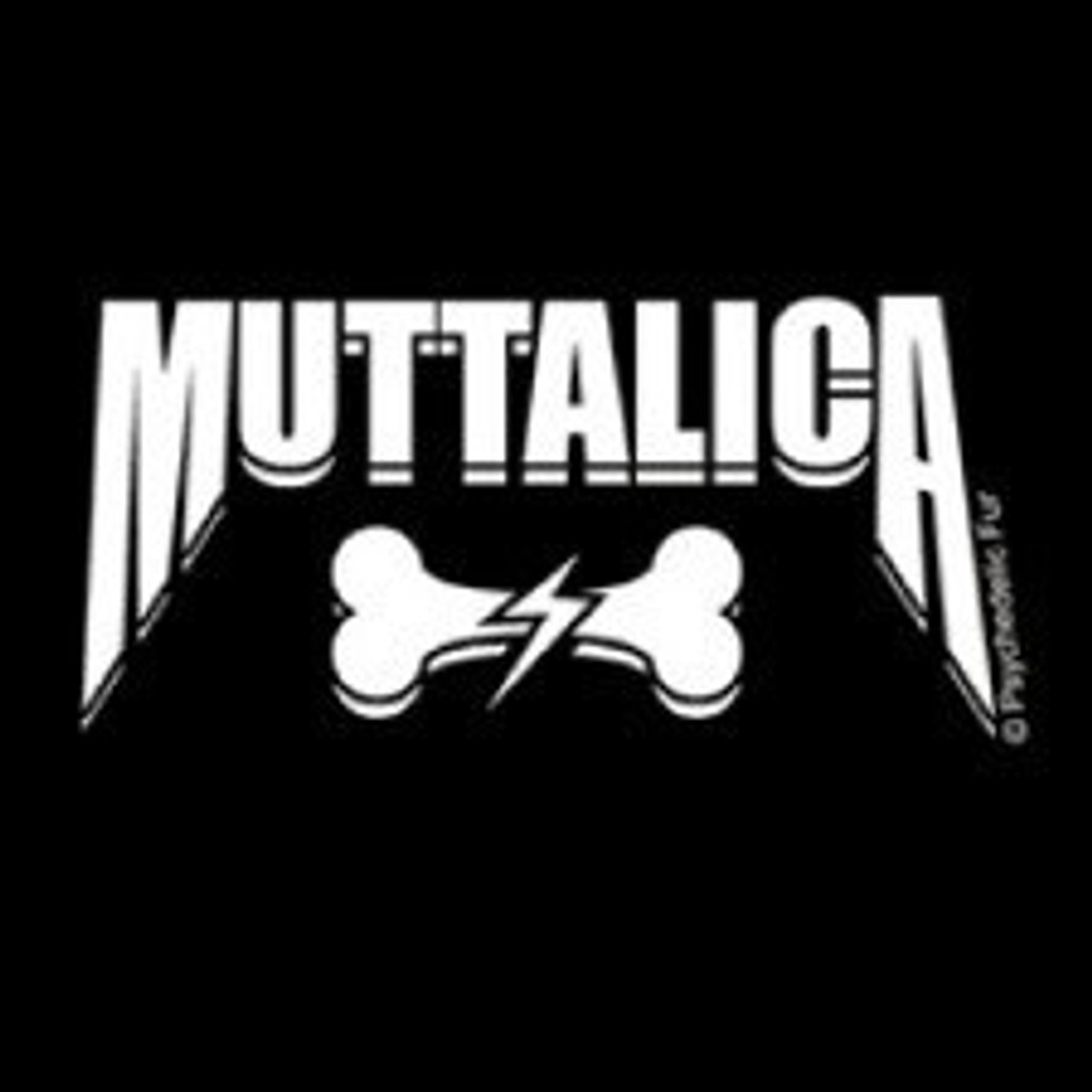 Muttalica Dog Tee - Black