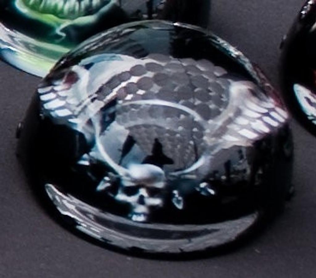 Winged Spiked Collar Dog Helmet