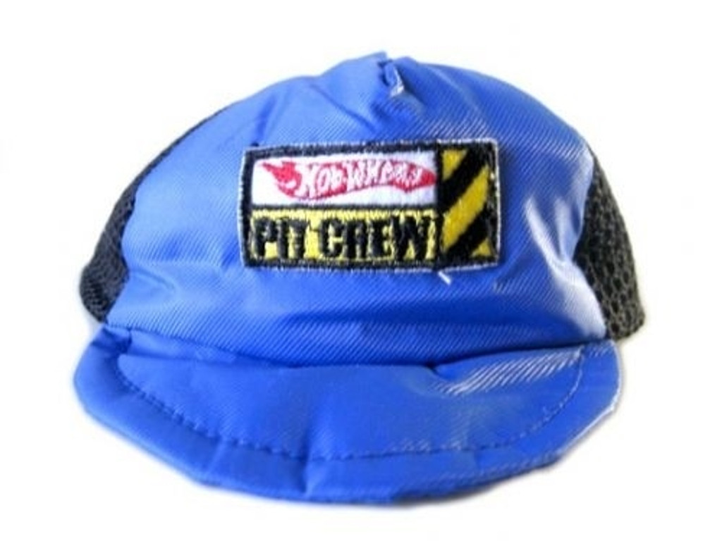 Blue Hot Wheels Pet Crew Dog Racing Hat