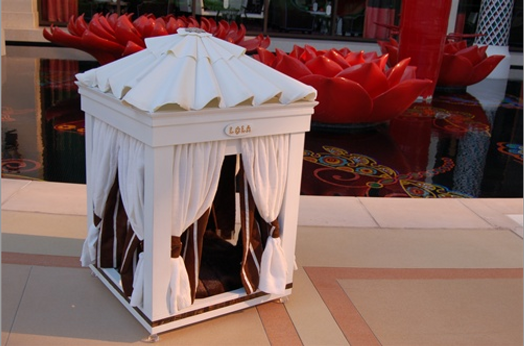 Royal Cabana Dog Bed