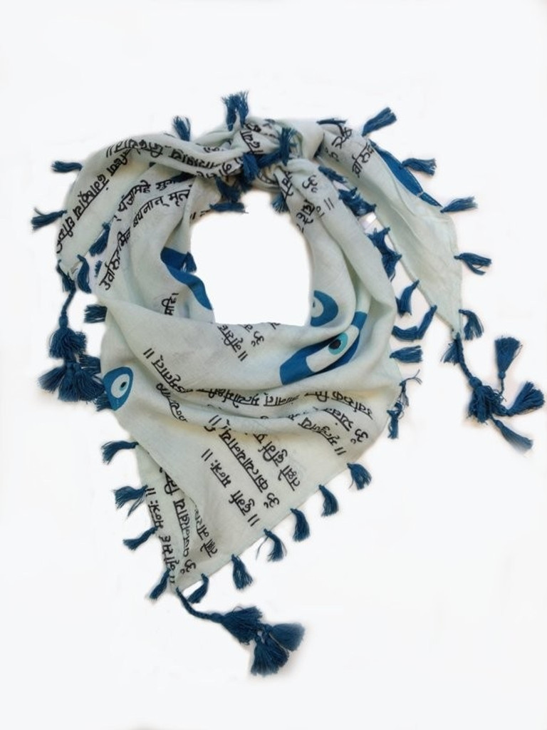 Evil Eye Dog Scarf
