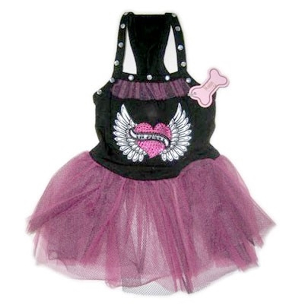 Rocker Tulle Dog Dress