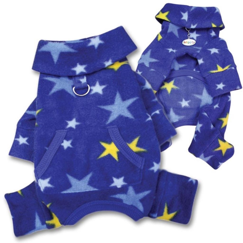 Fleece Stars Dog Pajamas