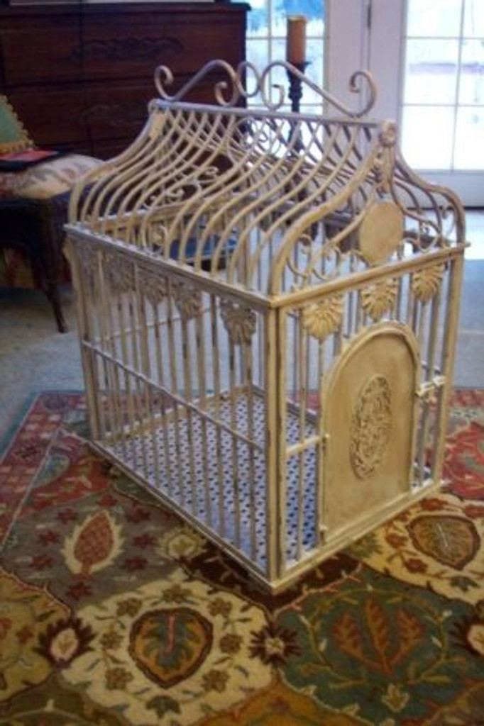 fancy dog crate