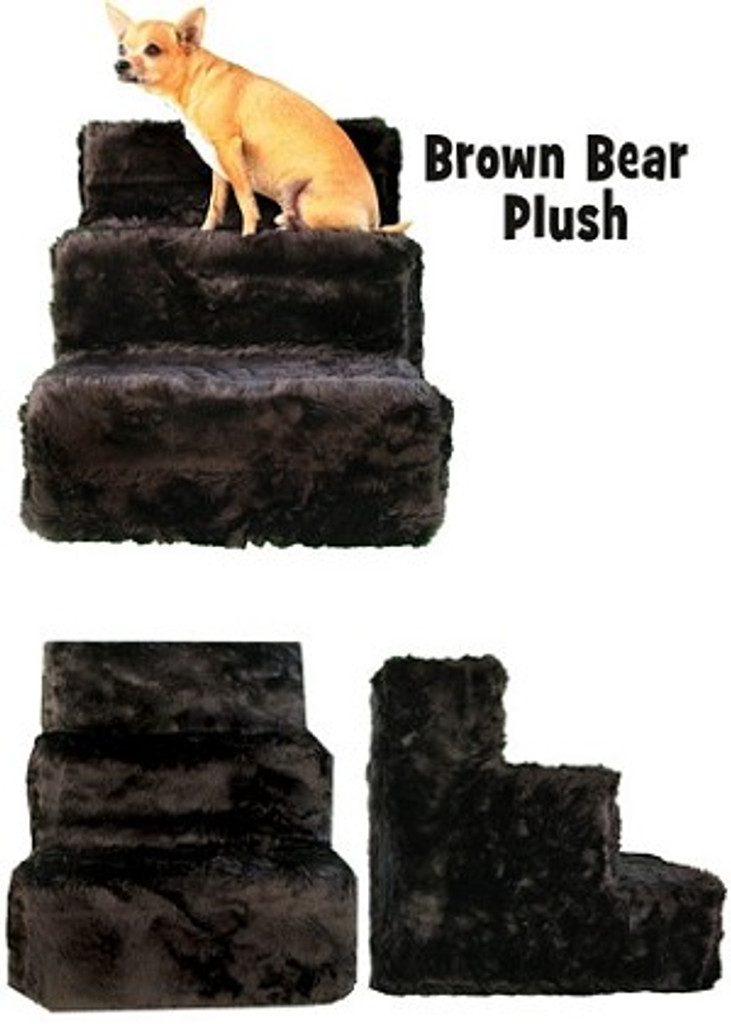 plush pet steps