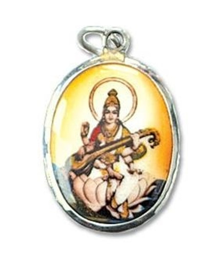 Saraswati Dog Collar Charm